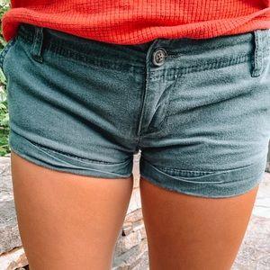 Hollister Navy Blue Shorts